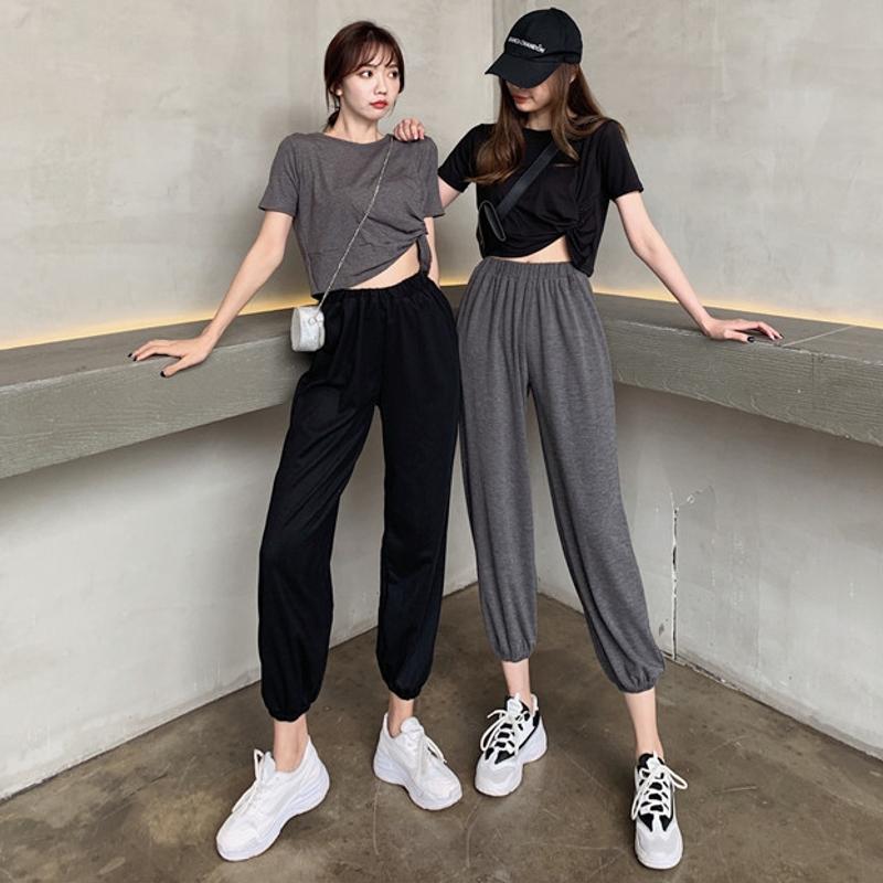 韩版jazz舞蹈宽松爵士舞服装女运动套装学生嘻哈街舞成人现代舞服