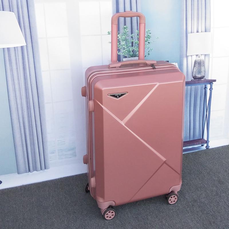 行李箱网红女ins铝框万向轮小型20寸学生24男拉杆旅行密码皮箱子