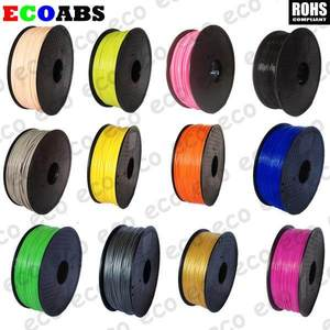 Red orange yellow green blue blue purple 3d printer office equipment dedicated abs consumable 1.75mm 20 colors