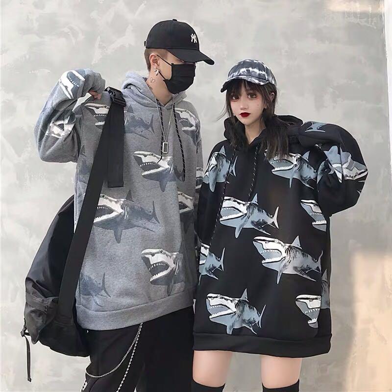 年前的范主恋specialone秋季lmhomme男女衣服同穿ins情侣卫衣套装