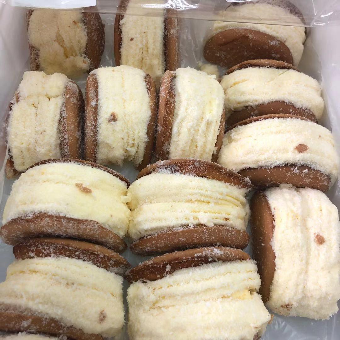 百年义利香妃雪奶油蛋糕4块老北京特产糕点零食老奶油下午茶包邮