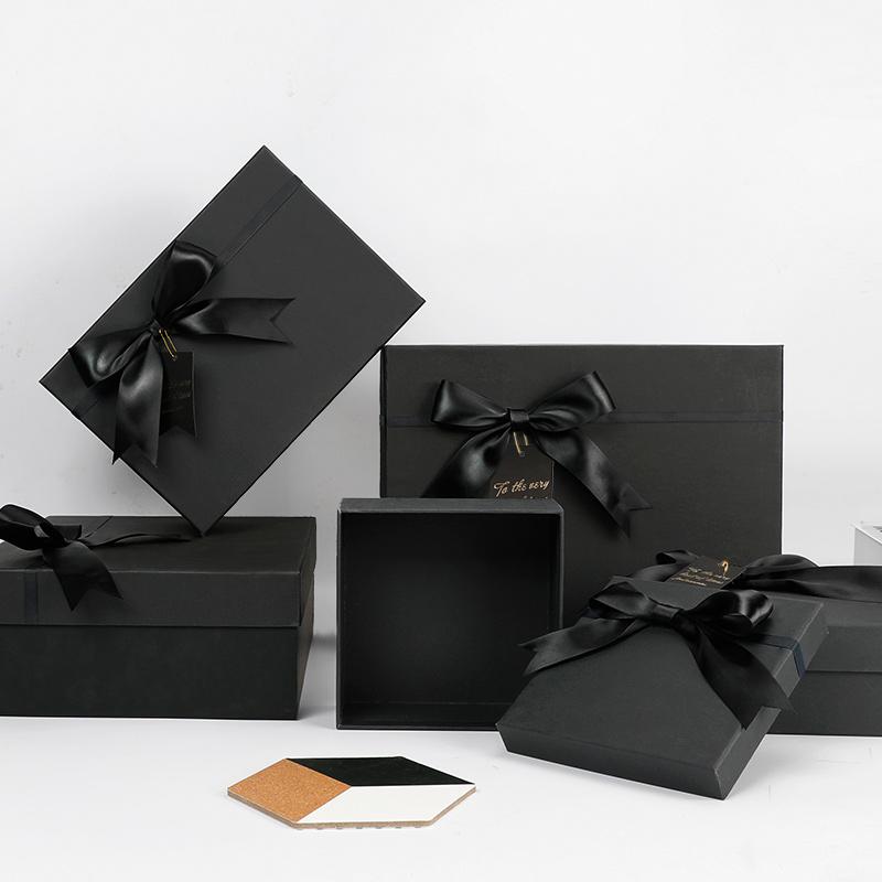网红ins精致包装盒礼物盒空盒子大号口红生日礼盒惊喜创意礼品盒
