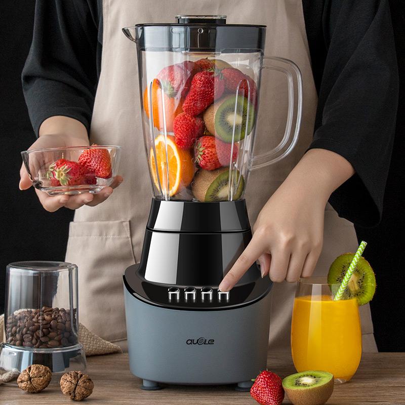 果汁机炸果汁榨汁机家用全自动多功能水果机小型打汁机窄汁料理机