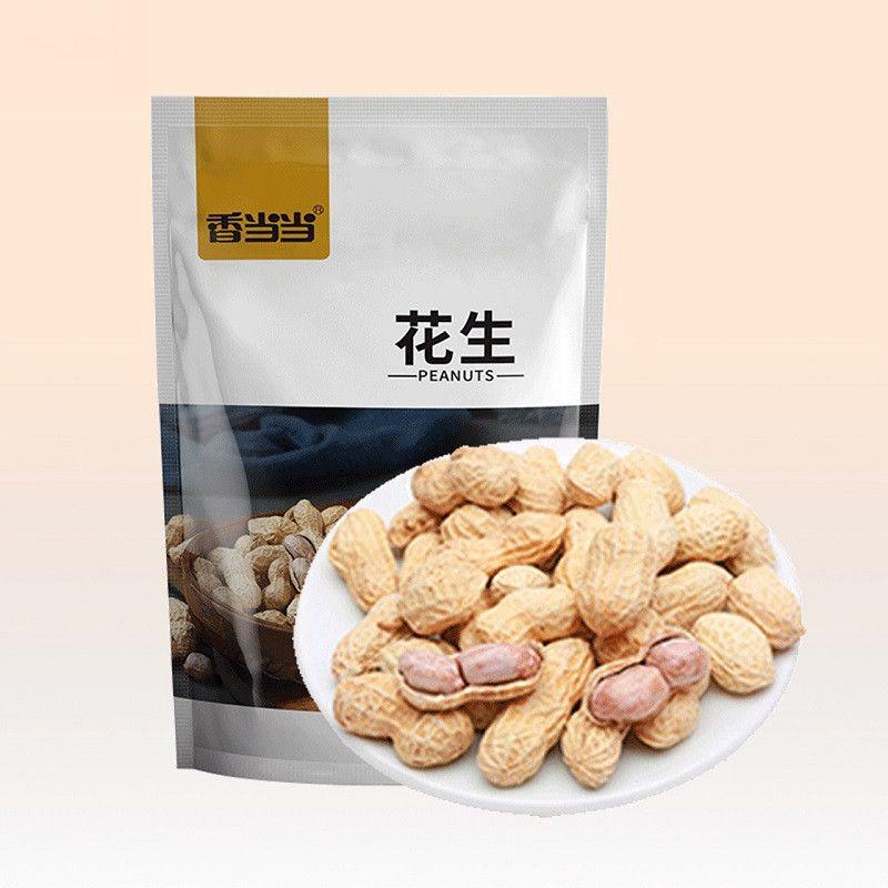 蒜香味花生五香带壳花生米坚果炒货龙岩特产年货零食小吃休闲食品