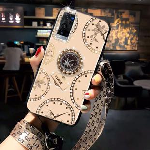 vivox60pro+手机壳新款5G版vivix奢华x6Opor高档vⅰv0x气质女vovix挂绳X60pro+外壳Ⅴox叉60pro十欧美pr0维沃