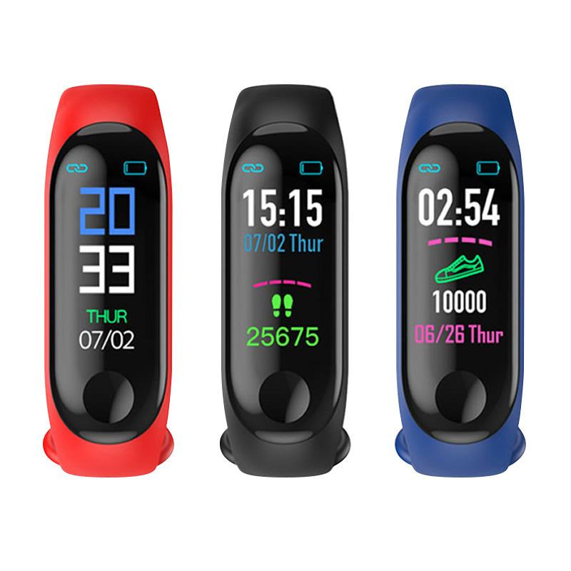 智能手环手表手机计步心率血压防水息运动健康器提醒适用于小米123苹果oppo华为vivo安卓IOS