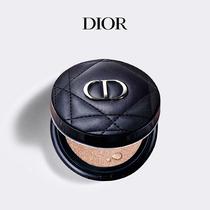 【官方正品】Dior迪奥锁妆凝脂恒久气垫粉底控油持久遮瑕薄