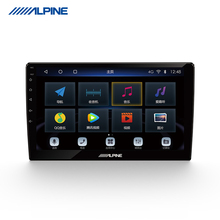Alpine Central Control Большой экран навигации на навигации One Machine Android 4G Network Universal AI Voice Reversing Панорамный автомобиль Изображение