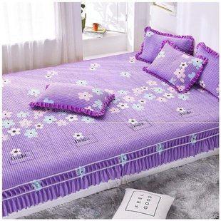 3米炕毯加宽双人单子浪漫炕单床罩防尘罩全包套炕床床罩