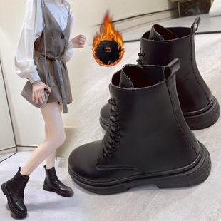 厚底马丁靴女英伦风潮ins酷夏季透气短靴靴子2020春秋单靴机车靴