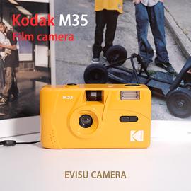 【福神楽】柯达kodak M35复古傻瓜旁轴新手入门胶卷相机