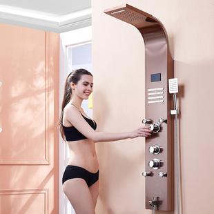 淋浴屏卫生间挂墙式沐浴花洒套装