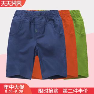 童装男童短裤2019 新款中大