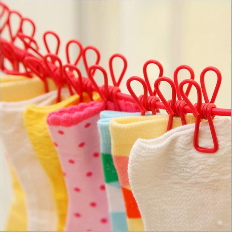 旅行晾衣绳晒衣绳凉衣绳晒被子绳子户外晾衣服神器旅游便携防风
