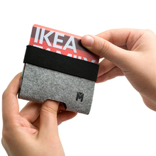卡包男士超薄简约大容量多卡ec10(小)巧女o3夹银行卡迷你卡套