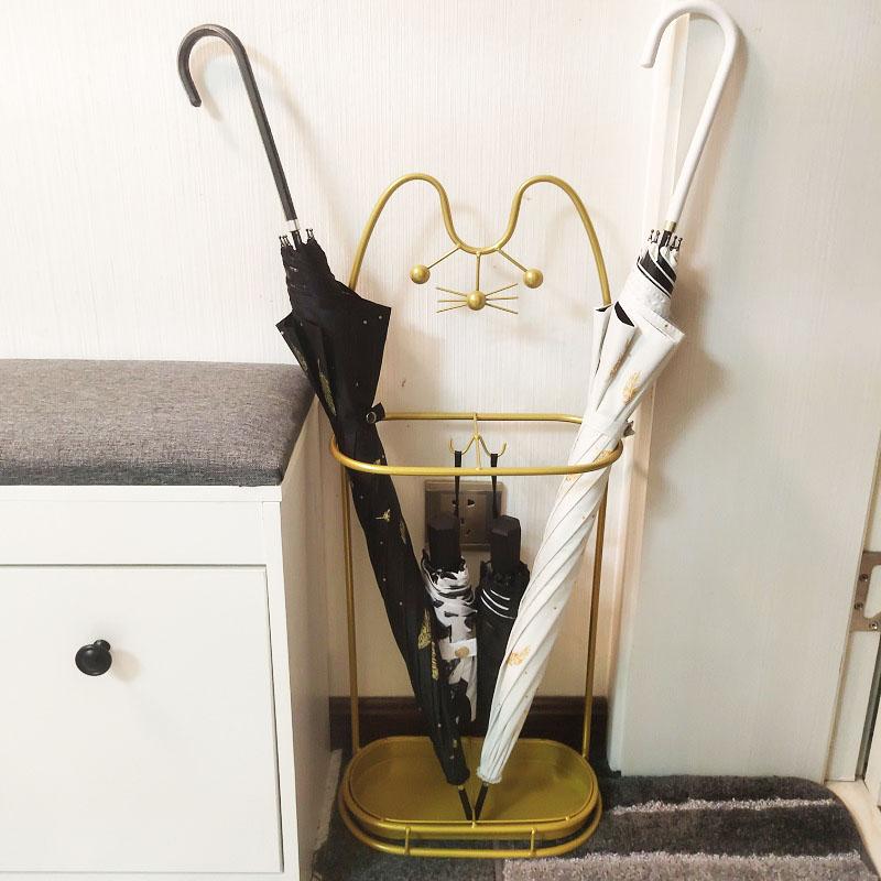 osemi雨伞架收纳家用伞桶进门口夹缝放置筒创意收纳挂放伞的架子