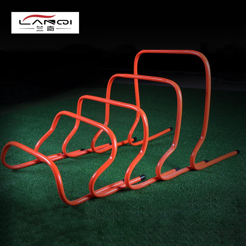 30cm小弯曲足球训练跨栏架体能训练健身装备器材敏捷跳栏 跳格梯