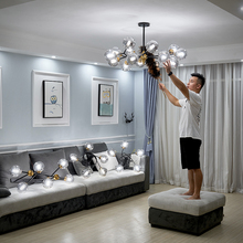 Nordic living room lamp chandelier set new light luxury modern simple all room lamp package combination in 2019