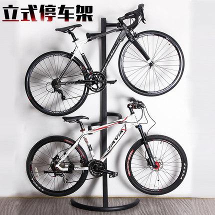 自行车室内停车架公路车墙壁立式架展示架山地车挂架单车支撑架