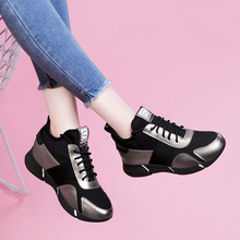 2019 spring new women's shoes Korean sports shoes, women's fun, flat bottomed running shoes, spring and autumn shoe trend