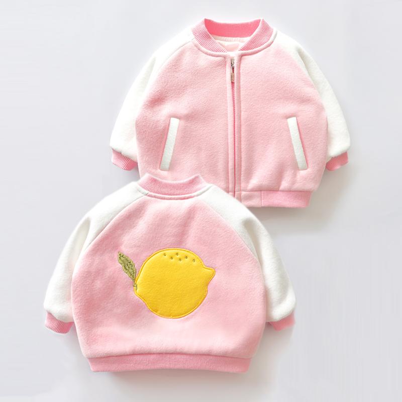 一周岁半宝宝开衫女0-1岁2女童棒球服3婴儿外套春秋上衣6-12个月9