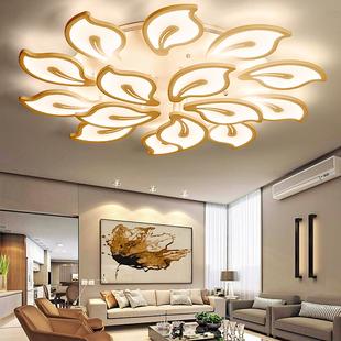 LED吸顶灯简约现代客厅灯温馨浪漫房间主卧室灯大气家用灯具灯饰