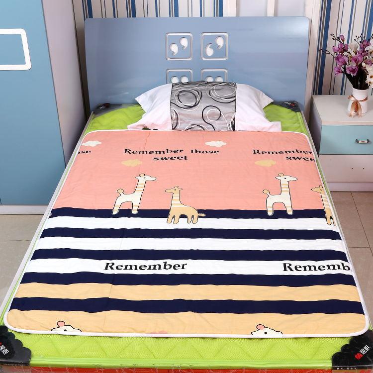 1*1.5米儿童纯棉隔尿垫特大号防水加厚可洗尿不湿床垫经期老人垫