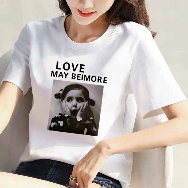 【100%纯棉】2020夏季新款白色韩版短袖t恤女宽松大码女