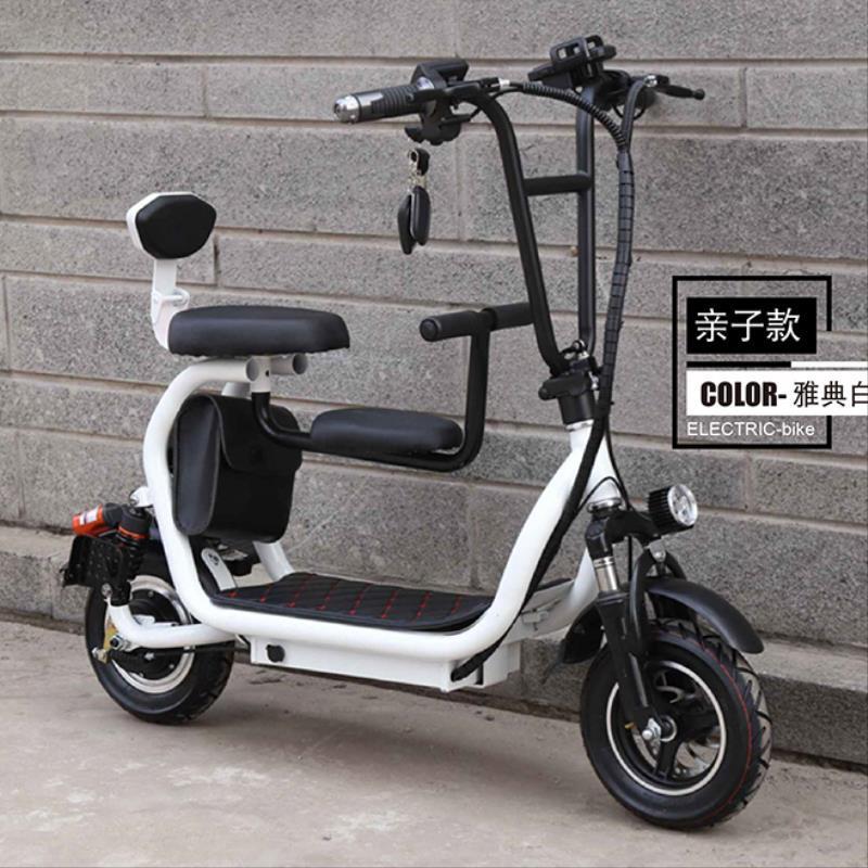 电动代步车折叠滑板踏板车迷你成年哈雷电瓶车小哈雷小型上班神器