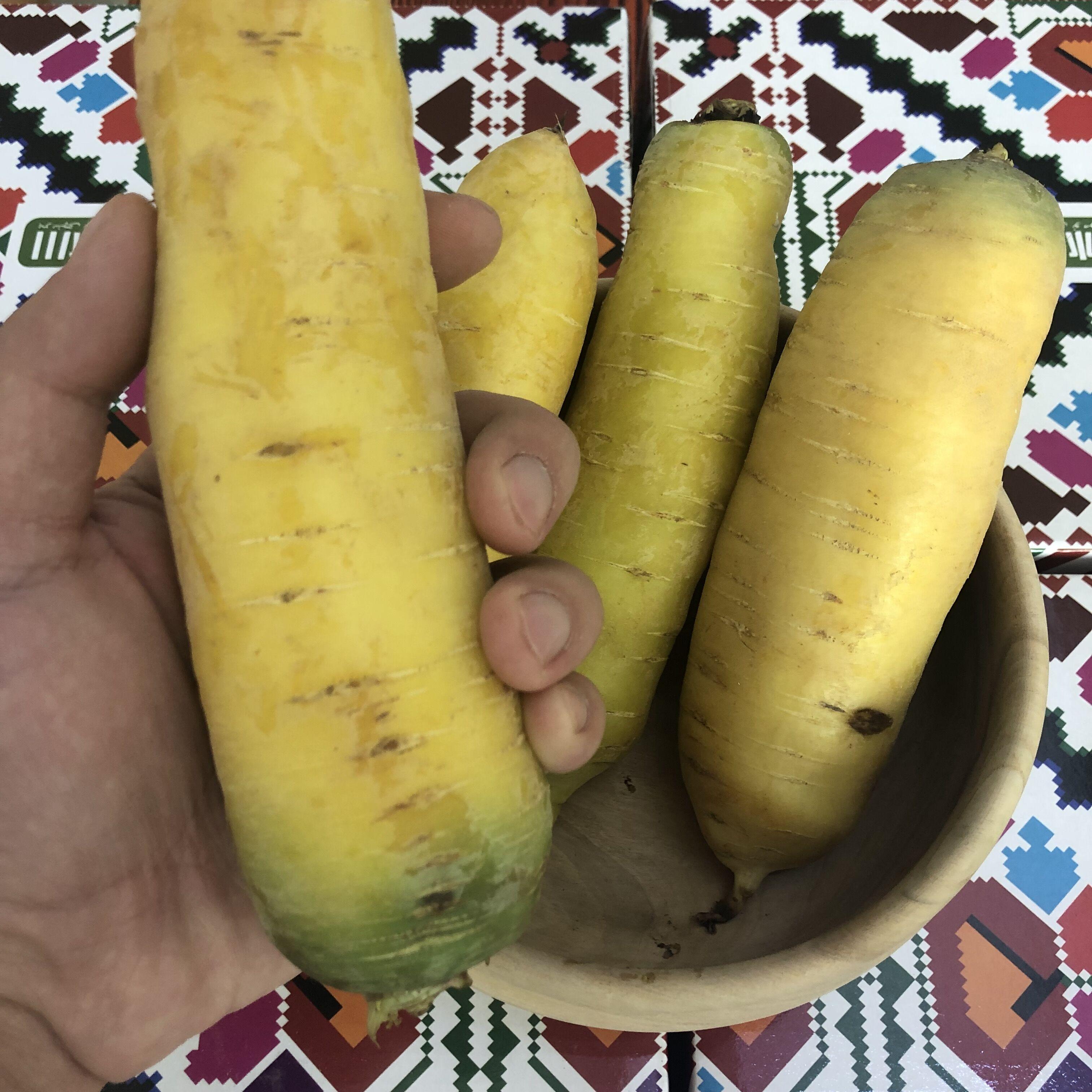 【一号冰川】正宗农家新疆黄萝卜 胡萝卜手抓饭专用新鲜蔬菜水果