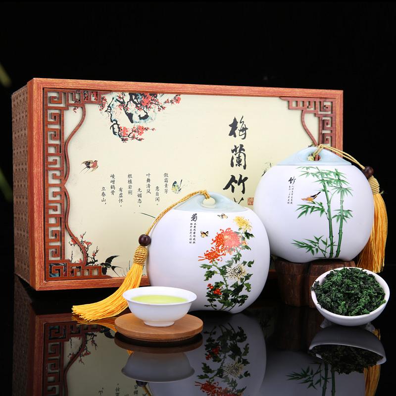 铁观音清香型秋茶 乌龙新茶 安溪铁观音兰花香茶叶礼盒装500g