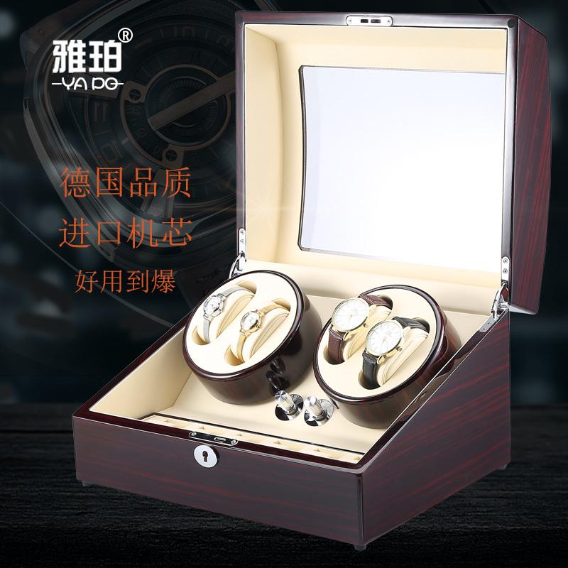雅珀摇表器德国品质进口马达机械手表上链盒晃表器自动摇摆器盒子
