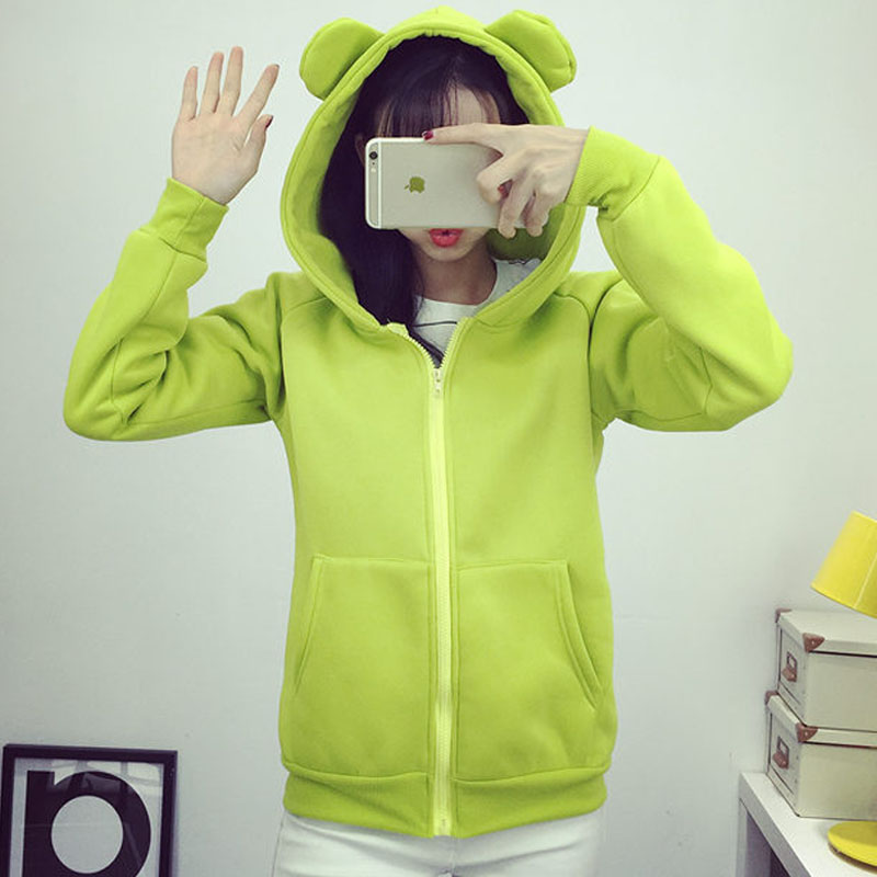 933 green fluorescent small ears