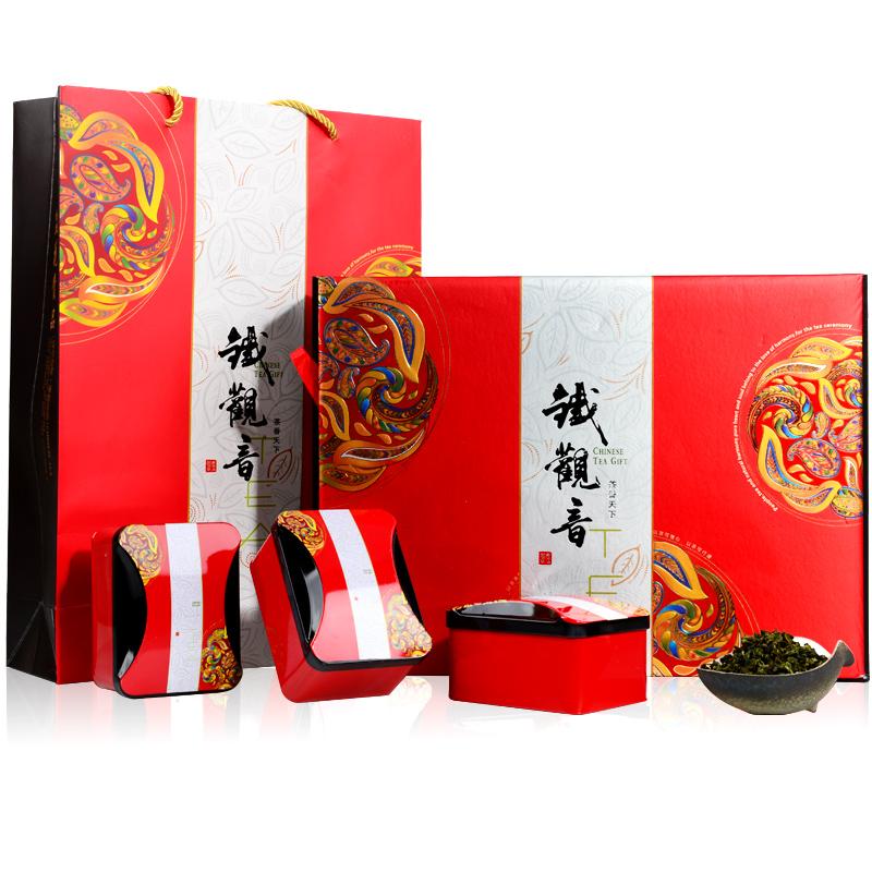 中闽弘泰清香型安溪铁观音 茶叶 铁观音 送礼铁观音礼盒装500g