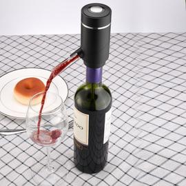 葡萄酒电动快速醒酒器 充电款红酒抽酒分酒器醒酒具不锈钢进酒管