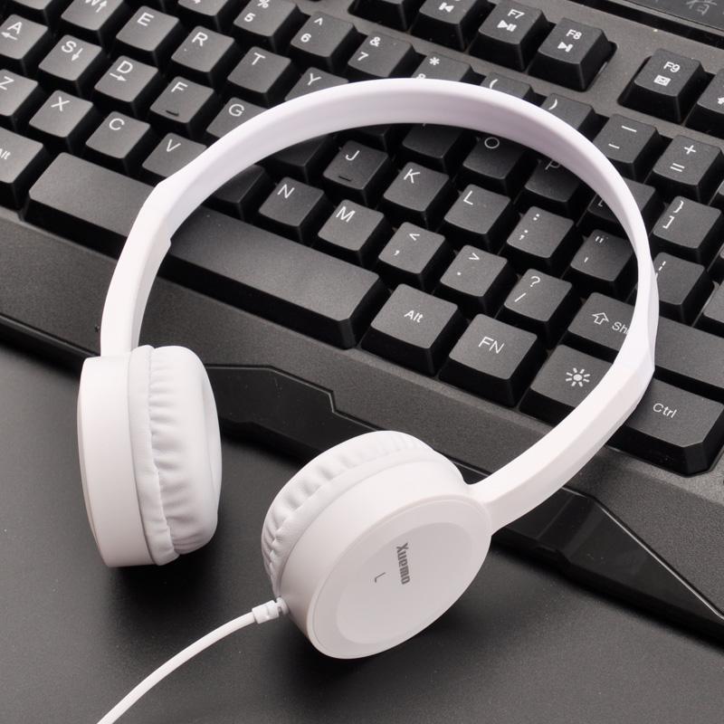 轻便耳机头戴式有线小巧OPPO华为vivo手机通用全民K歌音乐耳麦