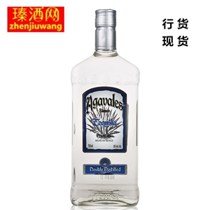 Alcohol imported Agavelas Silver Tequila 750ML Tequila
