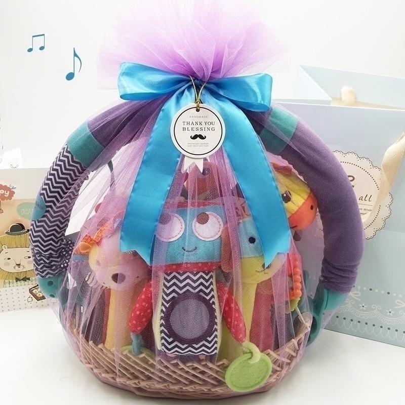 婴儿礼盒套装百天新生儿用品玩具男女宝宝满月礼物送礼高档大礼包