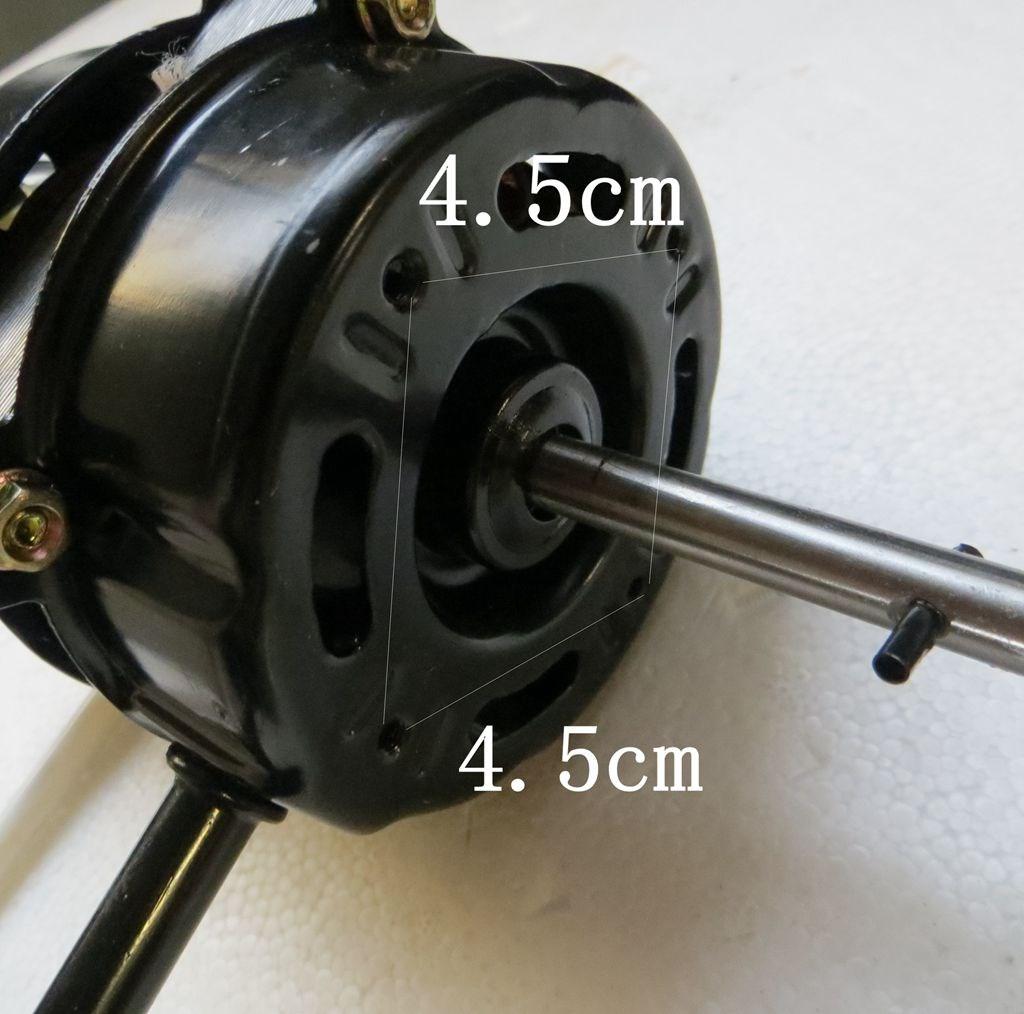 电风扇电机马达落地扇台扇摇头扇通用220V双滚珠轴承电机机头配件