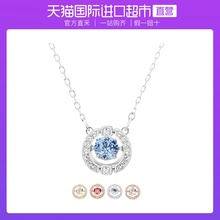 Direct sale Swarovski Swarovski beating heart necklace female clavicle chain simple fashion gift
