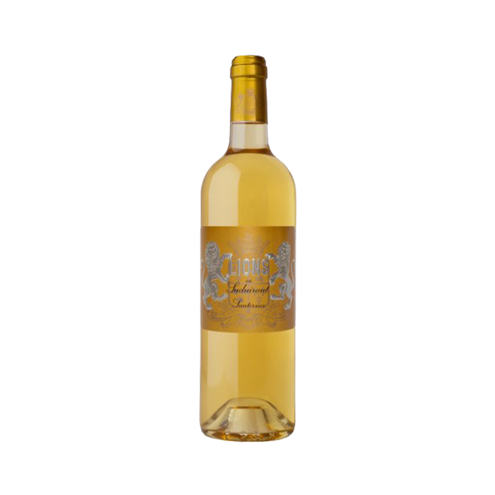 Lion de Suiduiraut 绪帝罗庄园 旭金堡贵腐甜白葡萄酒 2012年 375ml  *2件