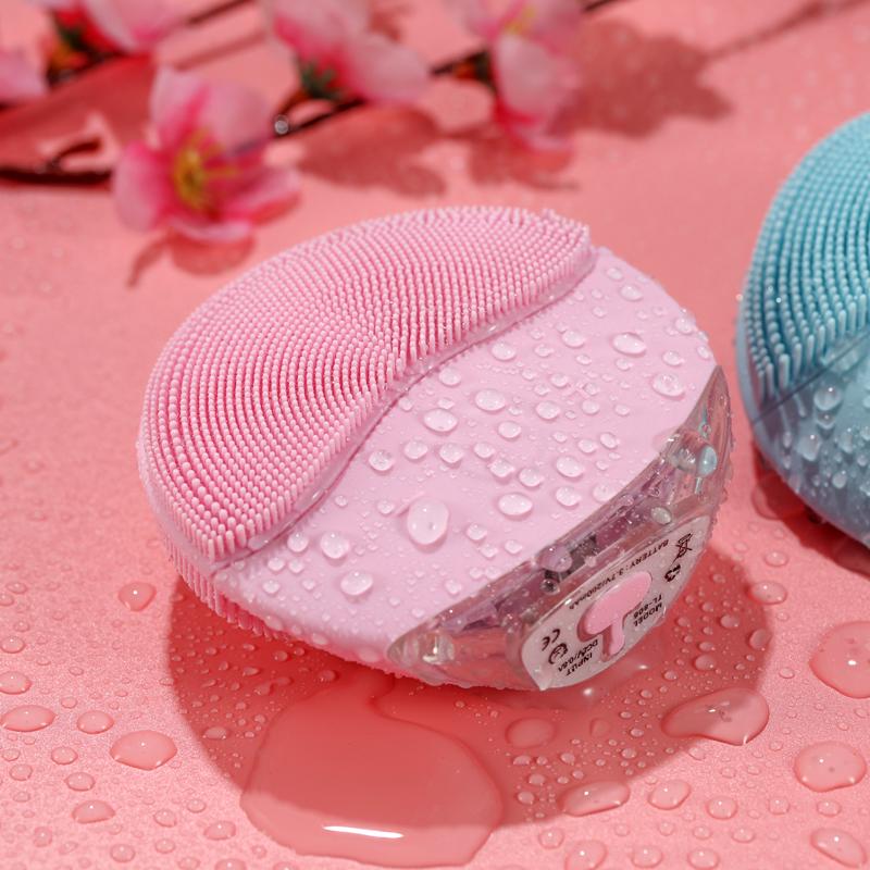 电动声波硅胶洁面仪洗脸刷神器小飞象毛孔清洁器三代男女可充电式