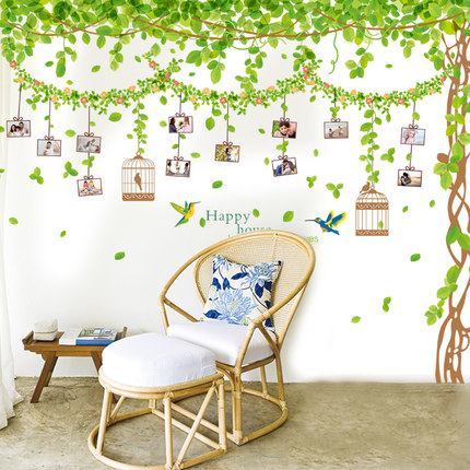 Self adhesive wallpaper wallpaper bedroom warm and for Wallpaper home goods