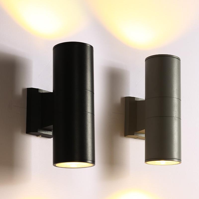 户外防水壁灯LED酒店别墅围墙灯现代门厅柱子庭院洗墙灯室外壁灯
