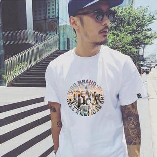 余文乐潮牌2019短袖T恤男