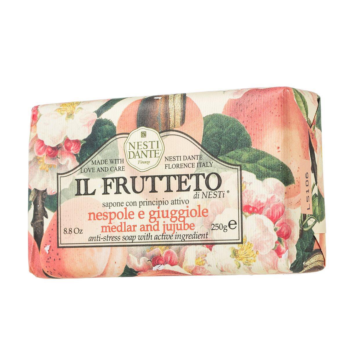 意大利进口内斯蒂丹特Nesti Dante芳菲果园蜜枣枸杞子沐浴皂250g