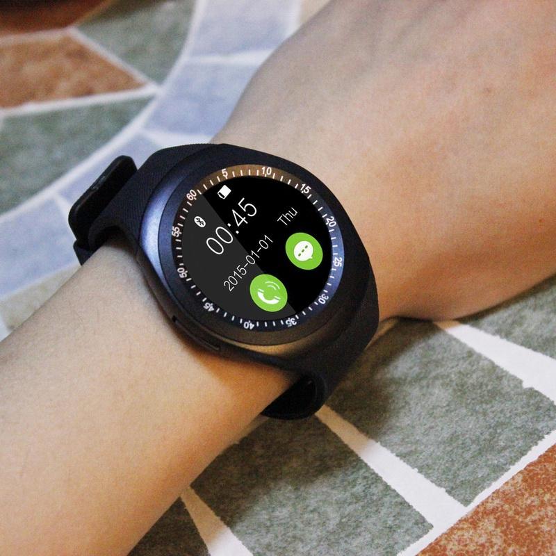 圆屏智能手表成人学生电话多功能适用小米三星oppo华为vivo