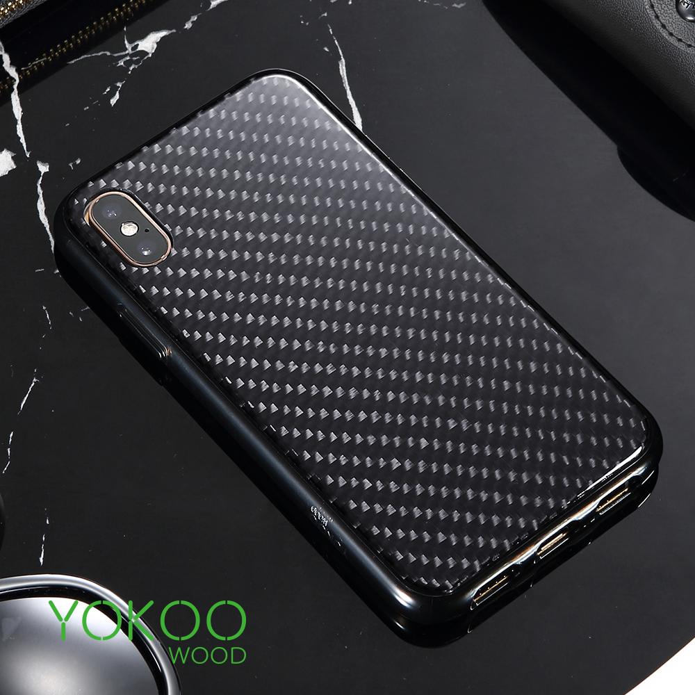iPhone XS Max碳素纤维手机壳苹果XS超薄iPhoneXR全包防摔保护套