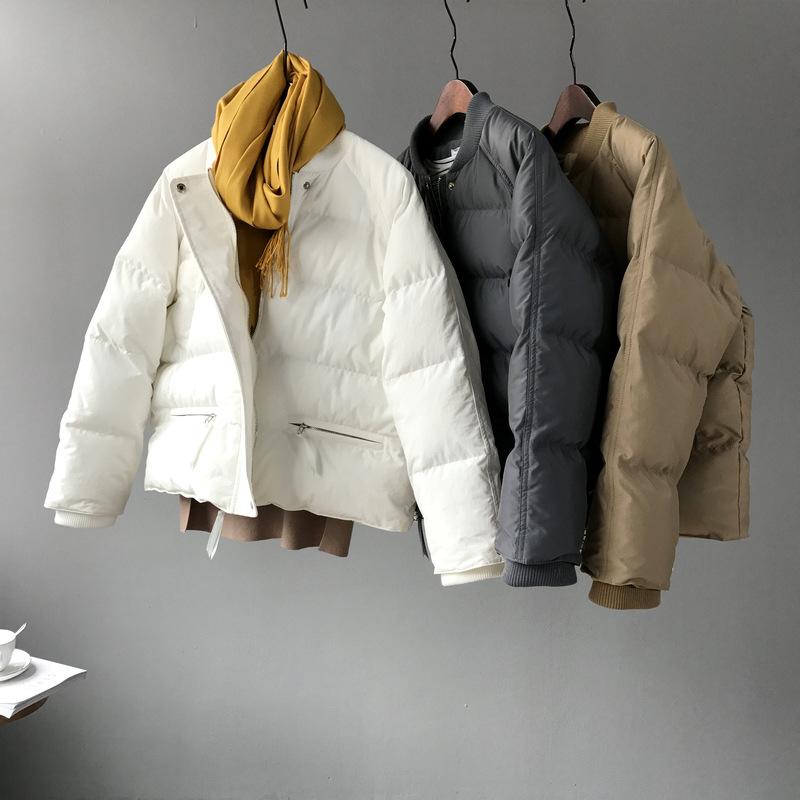 冬季新款羽绒棉衣棉服女短款韩版原宿bf风宽松面包服学生棉袄外套