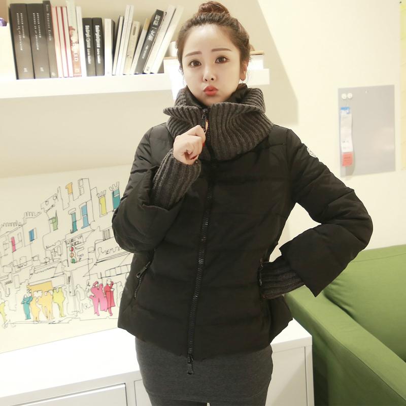超值90白鸭绒2018新款韩版羽绒服女短款立领冬加厚女装外套